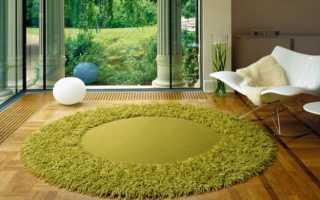 Дизайнерские ковры: современные модели из вискозы