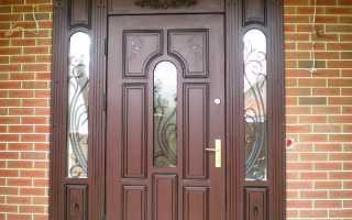 Обивка металлических дверей (38 фото): отделка входной двери изнутри, обшивка и облицовка декоративным камнем