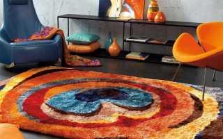Современные ковры (36 фото): красивые и модные дизайнерские напольные модели в стиле модерн