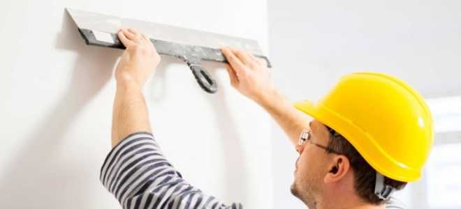 Выравнивание стен шпаклевкой: какую шпаклевку выбрать для выравнивания без маяков своими руками