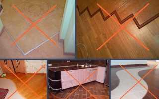 Стык ламината и плитки (79 фото): гибкий порог для соединение, стыковочный профиль для перехода