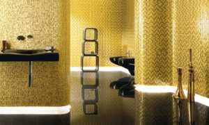 Золотая мозаика: оттенки цвета, примеры золотистой мозаичной плитки в интерьере